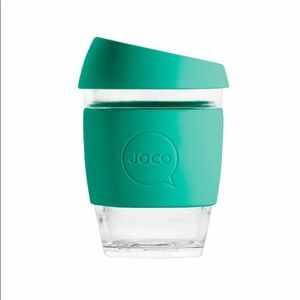JOCO Reusable Glass Cup in colour Mint NWOT